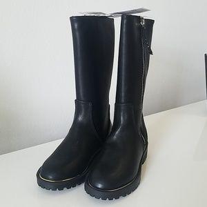 Zara Girls Black Boots